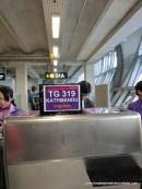 Three days: Tennesee to Seattle to Seoul to Bangkok and finally to Kathmandu