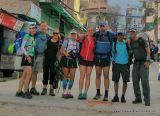 Team Pi: (L to R) Sandy and Colin Suckling, Emma Lee Vaughan, Linda Quirk, Stephani Gundel, Dan Letzler, Sudeep Kandel, Seth Wolpin