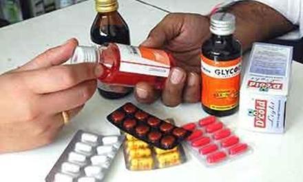 मापदण्डविपरीत सञ्चालित औषधि पसलमाथि कारबाही