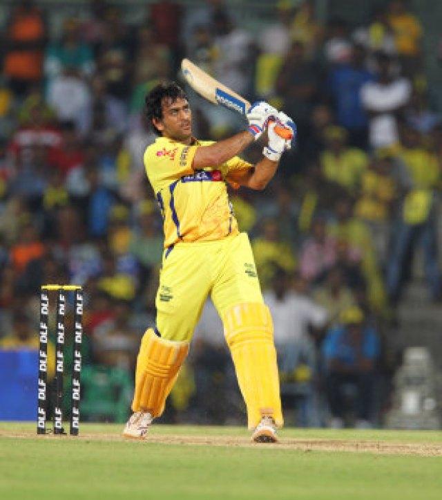 MS Dhoni provided the late flourish for Chennai Super Kings