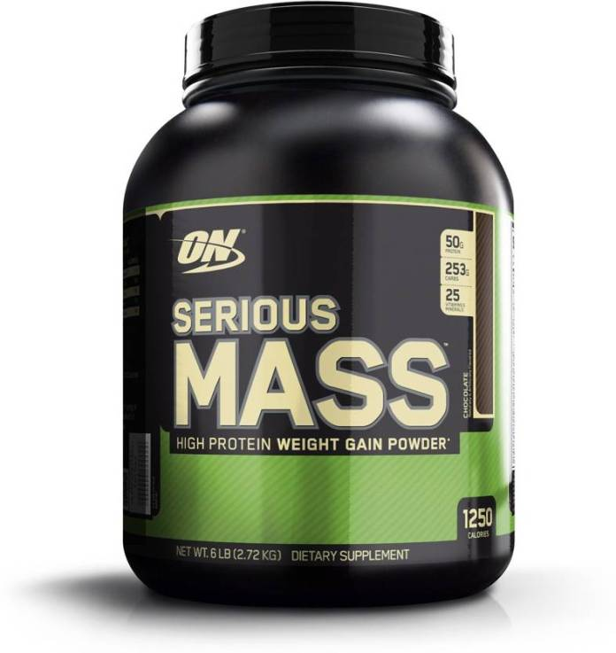Optimum Nutrition Serious Mass Weight Gainers