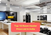 Top 10 Room Heater Price List In India