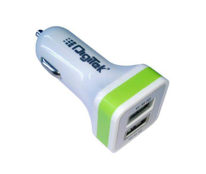 Digitek 009 Dual USB 2.1 A DMC Car Charger