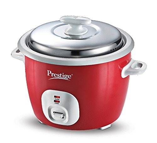 Prestige Cute Delight Electric Rice Cooker, 1.8-2L (Red)