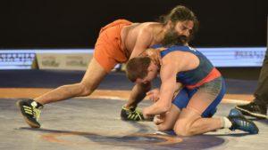 Baba Ramdev beats Olympic silver medallist