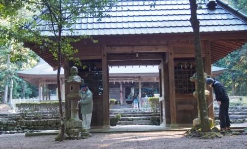 昨春準備大滝神社