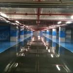 Peinture sol parking