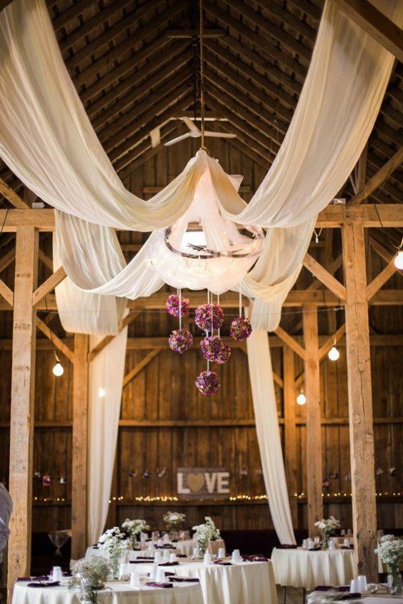 100 Stunning Rustic Indoor Barn Wedding Reception Ideas  Page 8  Hi Miss Puff