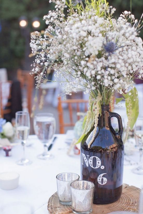 100 Country Rustic Wedding Centerpiece Ideas  Hi Miss Puff