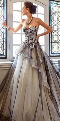 50 Beautiful Black Wedding Dresses You Will Love | | Hi ...