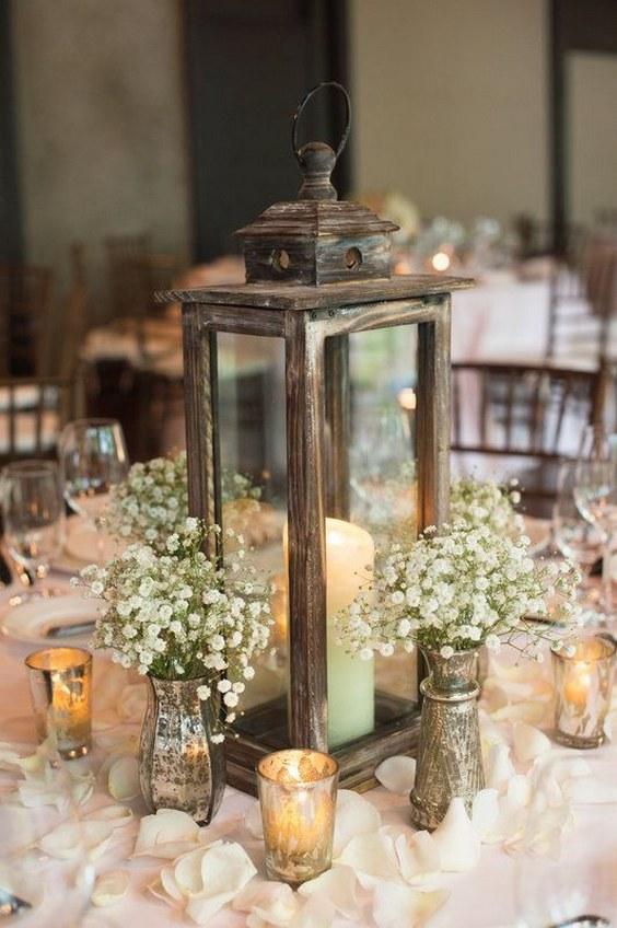 Wedding Table Centerpieces Without Flowers Trendy Design Ideas 14 Non Fl