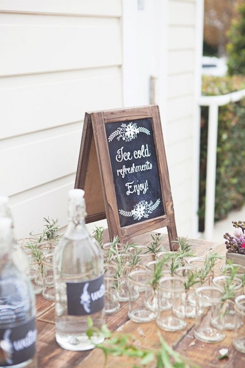 Rustic Tea Party Bridal Shower