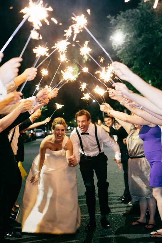50 Sparkler Wedding Exit Send Off Ideas  Page 4  Hi Miss Puff