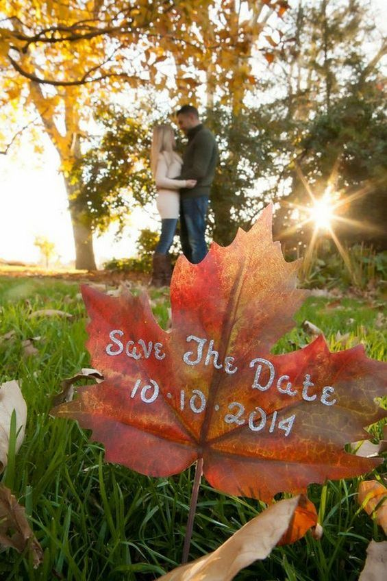 50 Fall Save The Date Amp Engagement Photo Ideas Hi Miss Puff