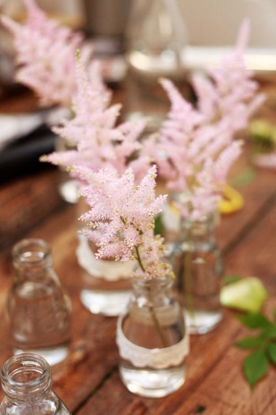 50 Ideas To Incorporate Astilbes In Your Wedding Page 8
