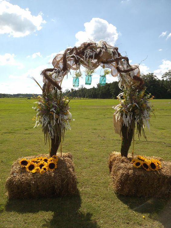 40 Outdoor Fall Wedding Arch And Altar Ideas Page 2 Hi
