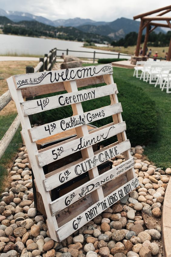 Country Wedding Colors Fall