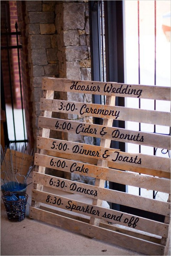 Say I Do To These Fab 100 Rustic Wood Pallet Wedding