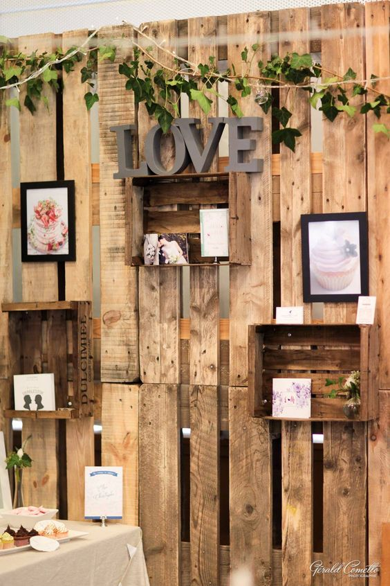 Say I Do to These Fab 100 Rustic Wood Pallet Wedding Ideas  Page 10  Hi Miss Puff