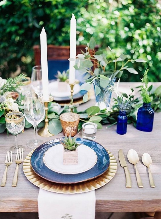 40 Navy Blue and Gold Wedding Ideas  Page 2  Hi Miss Puff