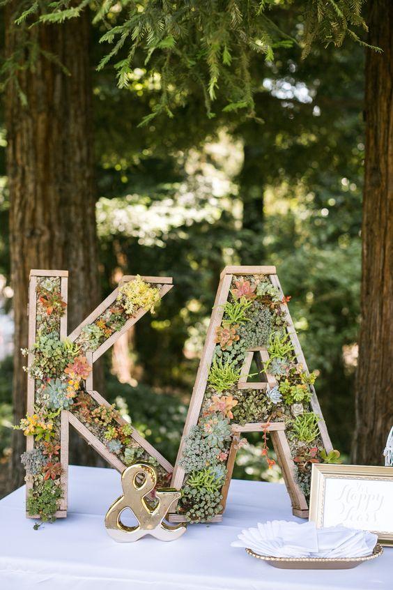 40 Wedding Initials  Letters Decor Ideas  Page 7  Hi