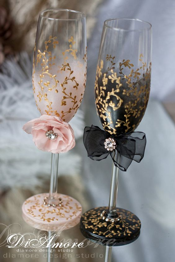 25 Chic Blush And Black Wedding Ideas Hi Miss Puff
