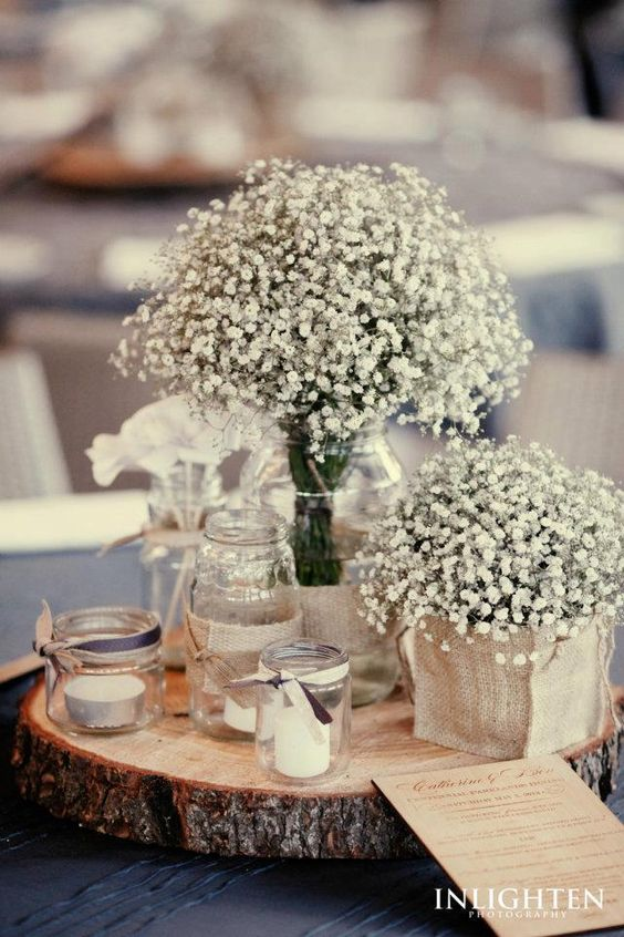 90 Rustic Babys Breath Wedding Ideas Youll Love  Page 9  Hi Miss Puff