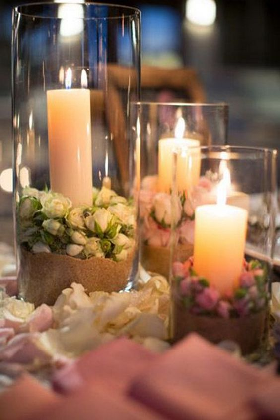 40 Glass Cylinder Wedding Centerpiece Ideas  Page 3  Hi