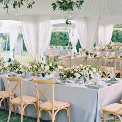 Cream Puff Chair Baby For Table Top 20 Classic Romantic Dusty Blue Wedding Decor Ideas | Hi Miss