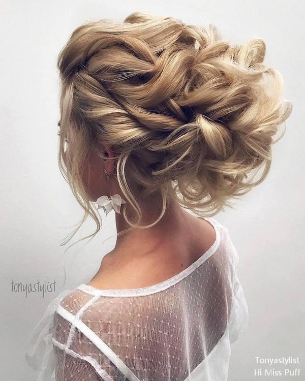 Tonya Pushkareva Long Wedding Hairstyles and Updos  Hi