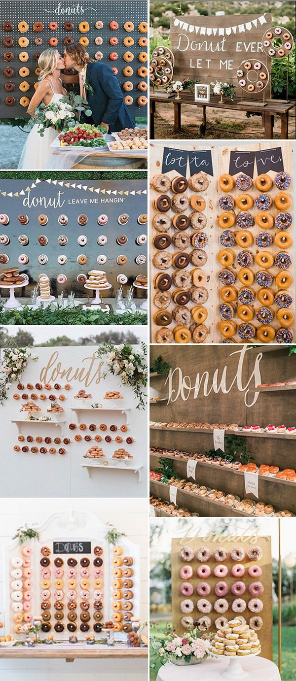Donuts Wall Donut Display donut display for wedding Donut Display ideas