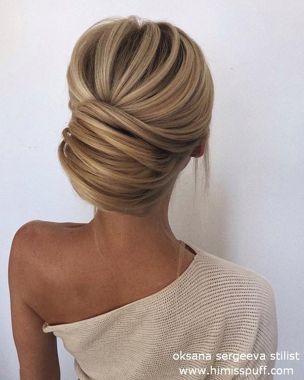 Long wedding hairstyles and updos oksana sergeeva stilist