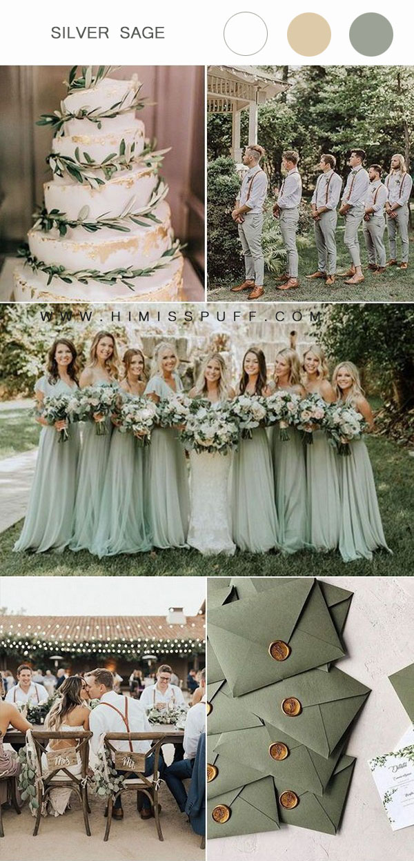 Sliver sage wedding ideas wedding inspirations