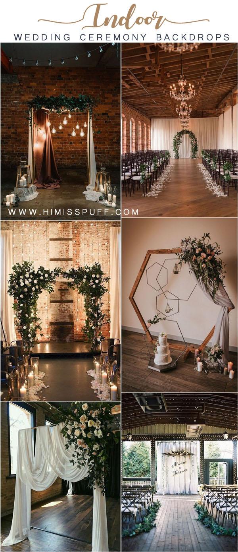 Top 20 Indoor Wedding Ceremony Backdrops – Page 2 – Hi Miss Puff