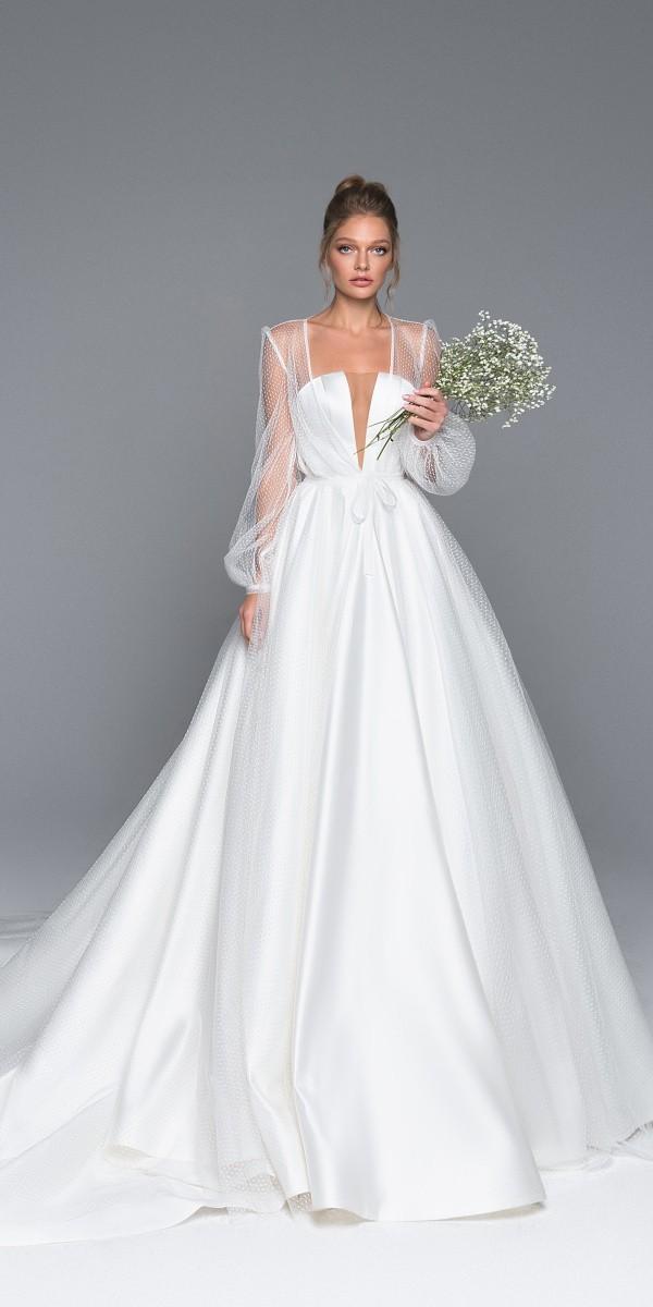 Eva Lendel elegant simple wedding dresses alexis_1