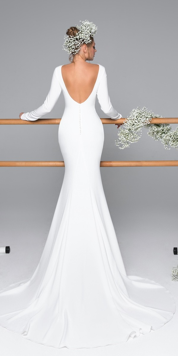 Eva Lendel elegant simple wedding dresses caprise_1
