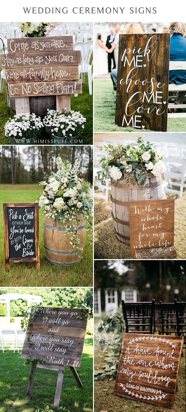 love quote signs for wedding wedding signs for walking down the aisle