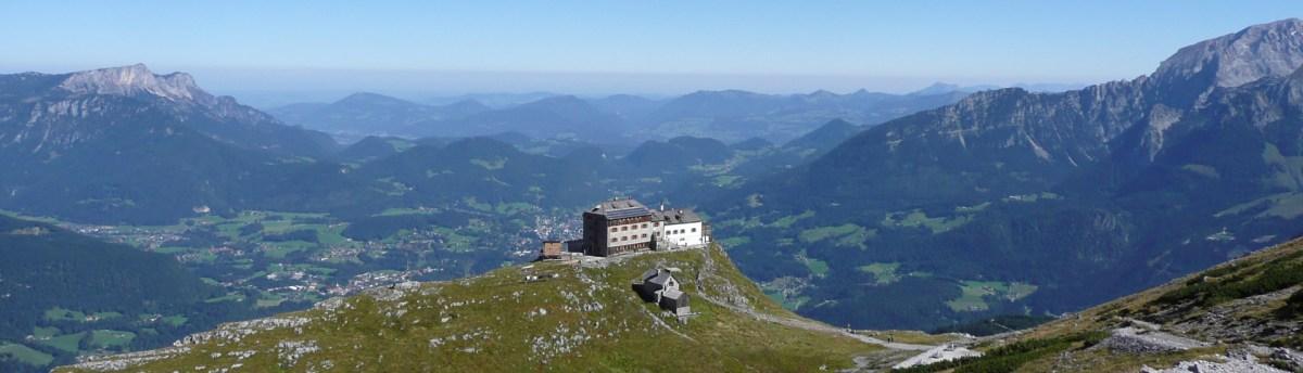 Blick auf Watzmannhaus