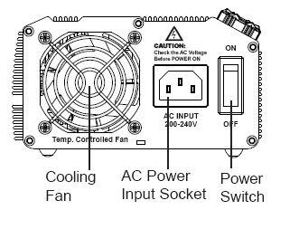 eFuel 110V Input 15-24V 60A 1200 Watt Output Switching AC