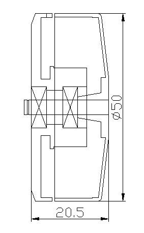 HL Gimbal Brushless Motor Z50-100T (for 5N, 7N, GH2, GH3