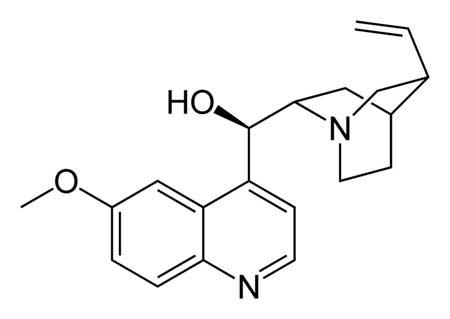 Quinine Sulphate & Quinine Hydrochloride anti malaria API.