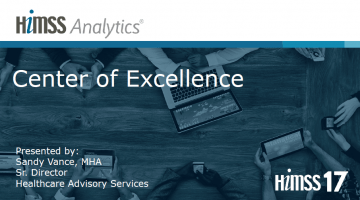 Center of Excellence  HIMSS Analytics  North America