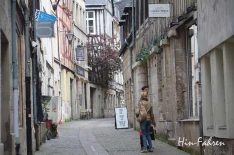Spaziergang in der Altstadt #Rouen #Normandie #Reiseziel