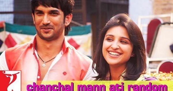 Chanchal Mann Ati Random Lyrics | Shuddh Desi Romance | Divya Kumar