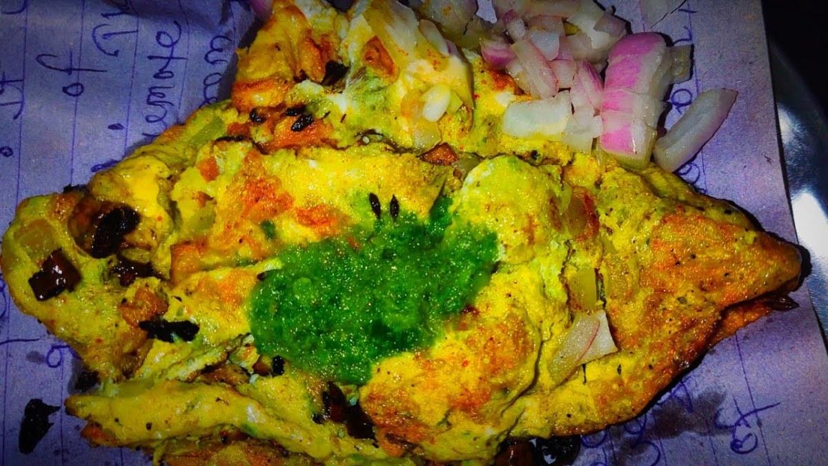 Lucknow Omlette आमलेट