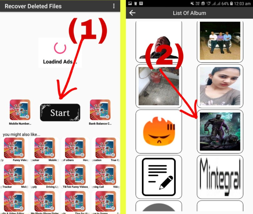 Recover Deleted All Files, Photos And Videos App