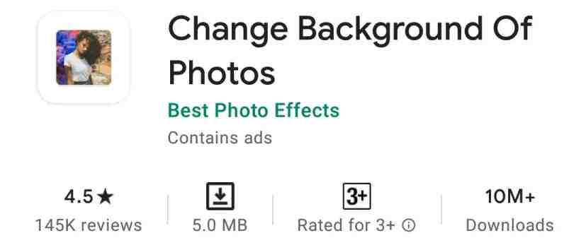 Change Background of Photos