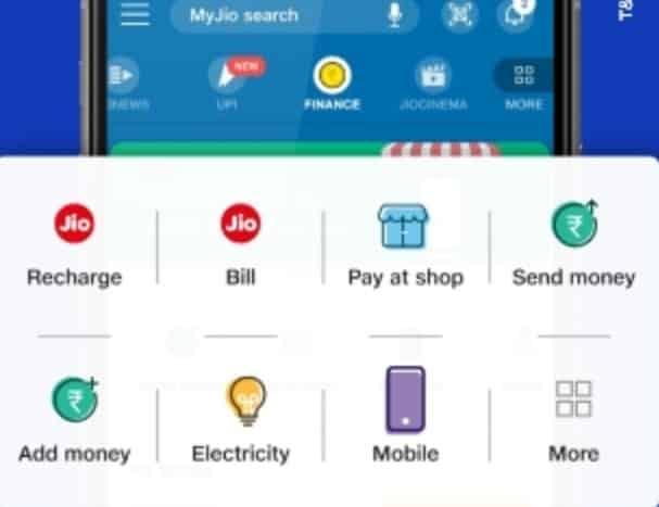 Jio Money , Paise  Transfer Apps