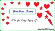 Tips to happy life | मेरे साथ Enjoy कीजिए बच्चों की Birthday Party
