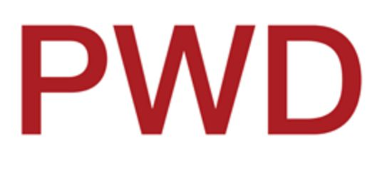 PWD means